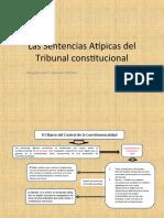 Las Sentencias Atípicas del Tribunal constitucional