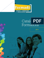 Catalogue 2011 - Formations en management