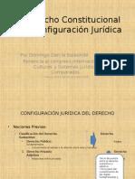 EL derecho Constitucional y su configuración Jurídica