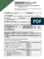 FICHA DE MONITOREO (2021)