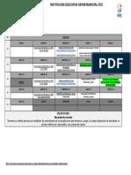 CRONOGRAMA MAYO 2021 - Documentos de Google