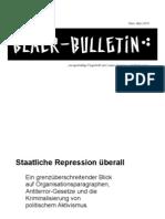 Black Bulletin 03-2010 - Antiterror Gesetze + die Kriminal. von pol. Aktivismus