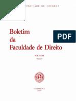 Boletim Faculdade Direito