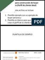 9. Plantilla Cliente Ideal Buyer Persona