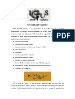 ICTUS PRODUCCIONES 2021