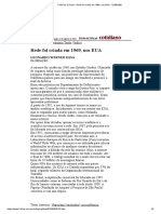 Folha de S.Paulo - Rede foi criada em 1969, nos EUA - 12_08_2001
