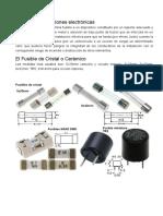 Copia de seguridad de Fusibles y protecciones electrónicas