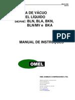 Vácuo OMEL - 0B611TEC - BLN, BLA, BKN, BKA e BLN-MV (P)