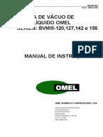 Vácuo OMEL - BVM-II - 120-156 --  MANUAL INSTR_
