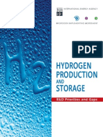 Hydrogen Production and Storage