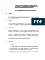 Lineamientos Para El Registro Contable de Los Bienes de Asistencia Social de La Unidad Ejecutora 1087 Ministerio de La Mujer y Poblaciones Vulnerables