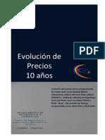 Estudio Evolución de Precios - Centro de Almaceneros de Córdoba
