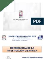 Presentación de la Clase - Unidad VI - Justificación de la Investigación