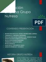 Valoración Empresa Grupo Nutresa