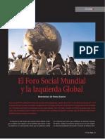 Santos Boaventura de Sousa-El Foro Social Mundial y La Izquierda Global