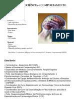 NEUROANATOMIA FUNCIONAL -ESPECIALIZAÇÃO ProfºEDNA BERTINNIl