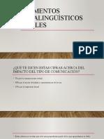 Elementos Paralingüísticos