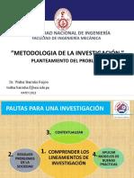 04-05-2021 Lineamientos Metodológicos Del Planteamiento Del Problema
