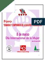 Agenda Laboral - CGTP Mujeres