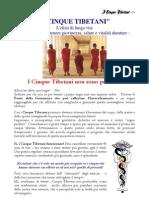 I 5 Tibetani - Dispensa