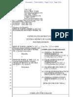 BMW of North America v. Phoenix Wheel & Tire - Complaint