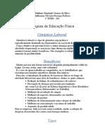 educação física-Guilherme Oliveira
