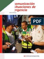 La Comunicacion en Situaciones de Emergencias