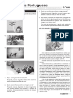 Revisao 6a9ano Portugues 2bim