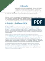 Business Process Management – BPM  - O Desafio
