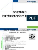 ISO 22002 - PROGRAMAS PREREQUISITO