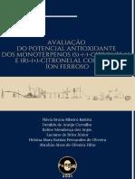 CONSELHO EDITORIAL 05 - Avaliação Do Potencial Antioxidante Dos Monoterpenos