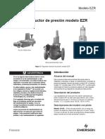 Ezr Regulador Reductor de Presión Manual de Instrucciones Br Ezr Pressure Reducing Regulator Instruction Manual Es 6274172