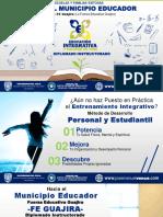 Educación Integrativa 2020 Propuesta