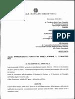 Rinvii udienze tribunale di Benevento