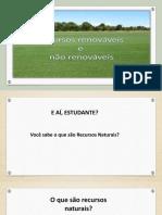 Recursos Naturais -  3A