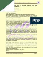 Ejercicios Dados Por El Arcángel Miguel Para Ser Practicados Diariamente Ss