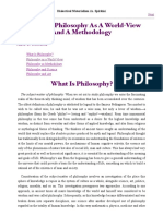 Spirkin, A. - Philosophy As A World-View And A Methodology