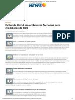 Evitando Covid em ambientes fechados com medidores de CO2 - Em Pauta - Campo Grande News