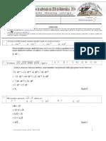 Exame de Matemática UEM – 2014 - RESOLUÇÃO