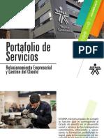 SENA - Portafolio de Servicios - Relacionamiento Empresarial y Gestión al Cliente