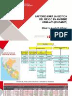 Factores  de Ocupación Segura en Ciudades - Máximo Ayala