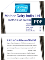 Mother Dairy final ppt