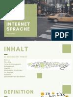 Internet Sprache-3
