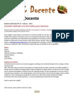 PC Docente Boletín Nº 14