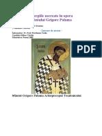 Energiile Necreate in Opera Sfantului Grigorie Palama