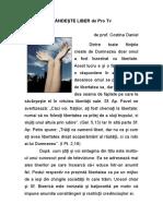 Gandeste Liber de ProTV(Prof.costinaDaniel)