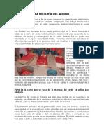 ELABORACION DE ADOBOS DE ARAGON