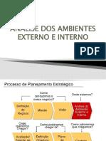 Aula 5 - Análise Dos Ambientes Externo e Interno