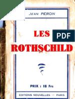 Peron Jean - Les Rothschild