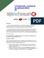 Delphi MVC Framework – Criação de Servidores de Aplicação REST com DELPHI